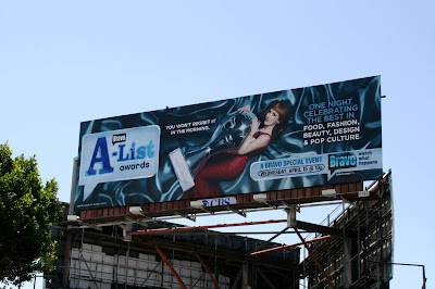 Kathy Griffin Bravo A-List Awards billboard