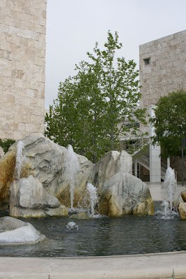 Getty Center fountain pool