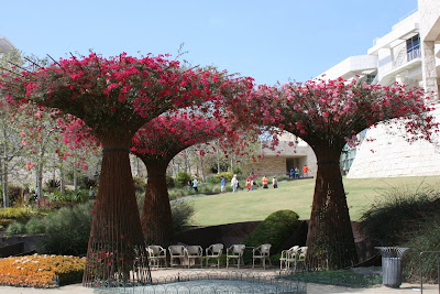 Getty Center gardens in bloom