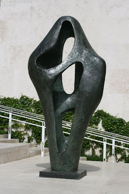 Getty Center sculpture