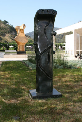 Figure bronze sculpture by Joan Miro