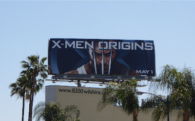 X-Men Origins - Wolverine movie billboard