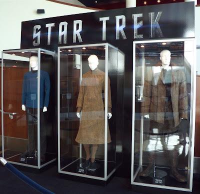 Actual Star Trek movie costumes