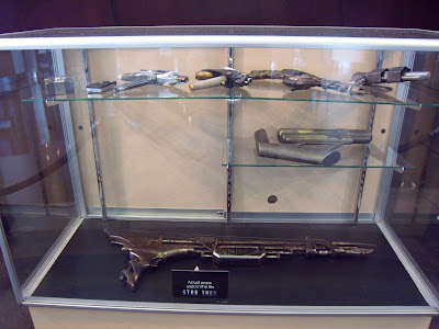 Actual Star Trek movie weapon props