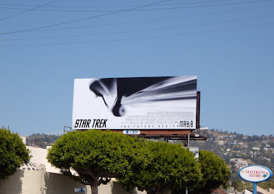 Star Trek The Future Begins movie billboard