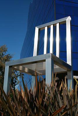 Impressive Seat of Design Chair sculpture