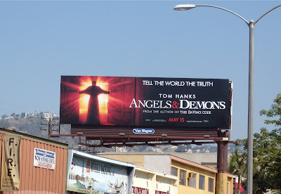 Angels and Demons film billboard