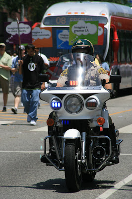 West Hollywood Gay Pride police 2008