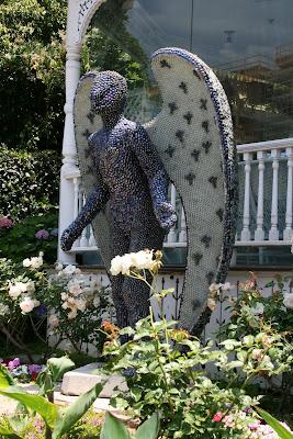 Angels Attic museum garden angel in Santa Monica