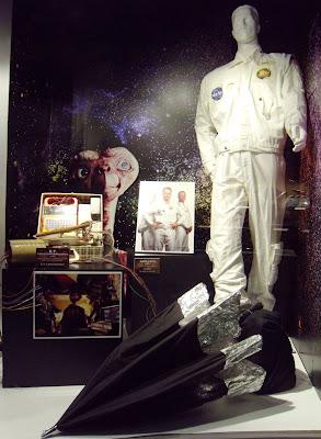 ET communicator film prop and Apollo 13 movie costume