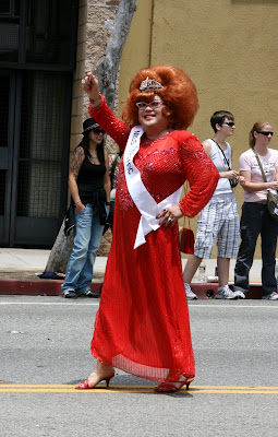 Miss Traffic at West Hollywood gay Pride Parade 2009