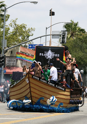 Playhouse Pirates at WEHO Gay Pride Parade 09