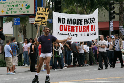No more hate - West Hollywood Gay Pride Parade 09