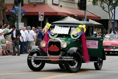 Maid up car West Hollywood Gay Pride Parade 2009