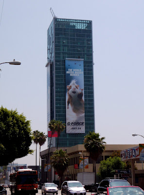 G-Force movie billboard