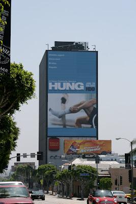 HUNG comedy TV series billboard