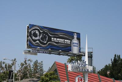 Absolut Vodka billboard