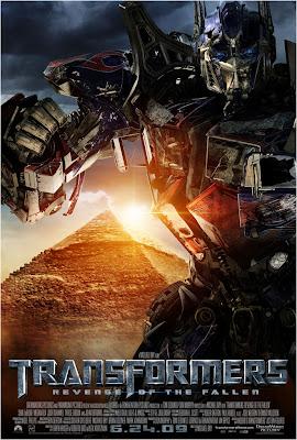 Transformers 2 Optimus Prime movie poster