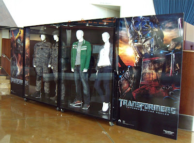 Original Transformers 2 movie costumes at ArcLight Hollywood