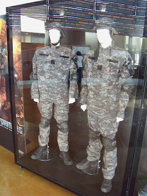 Transformers 2 movie costumes NEST uniforms