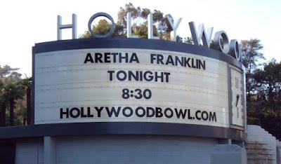 Aretha Franklin at The Hollywood Bowl 26 June 2009