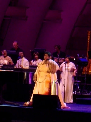 Soul Queen Aretha Franklin at Hollywood Bowl