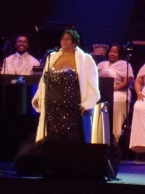 Soul legend Aretha Franklin at The Hollywood Bowl