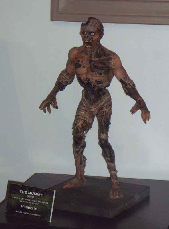 The Mummy maquette based on Arnold Vosloo as Imhotep