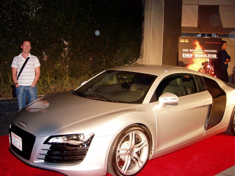 Tony Stark's Audi car from Iron Man movie