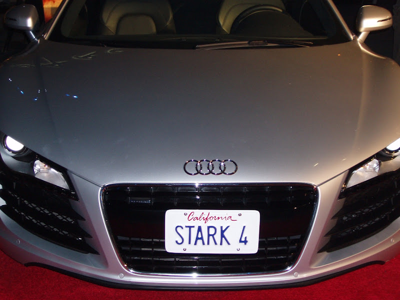 Tony Stark's Audi car from Iron Man film