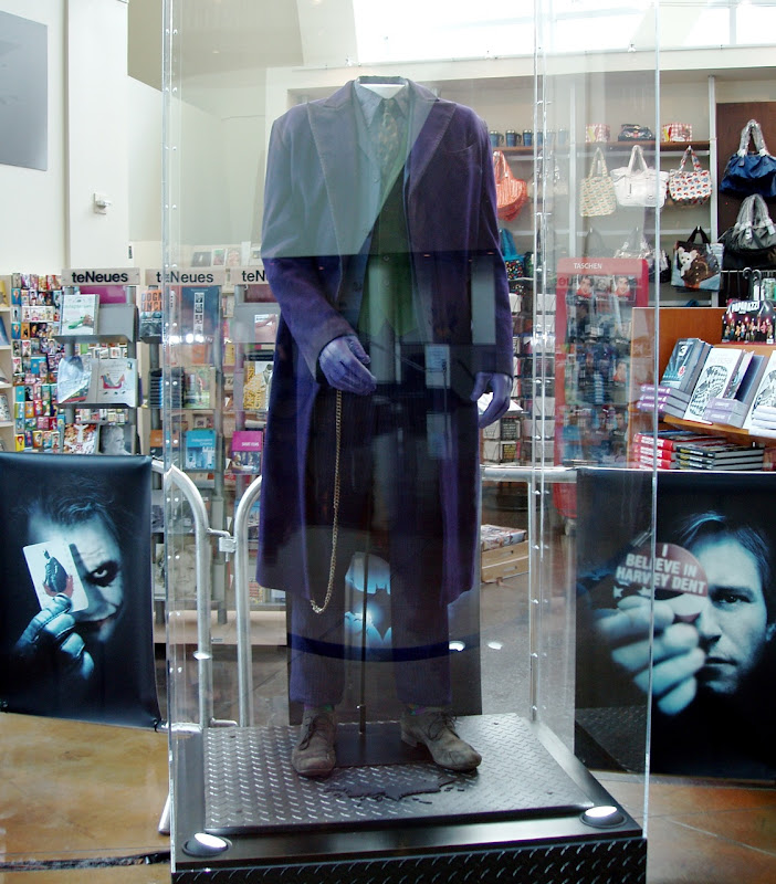 Heath Ledger's Joker costume form The Dark Knight movie