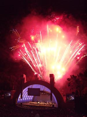 Hollywood Bowl Prokofiev impressive fireworks