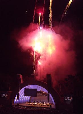 Impressive Hollywood Bowl Prokofiev fireworks