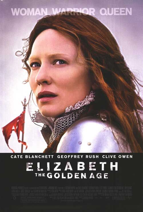Elizabeth The Golden Age movie poster