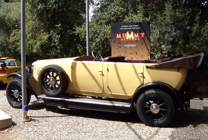 Original Dusenberg car from The Mummy Returns