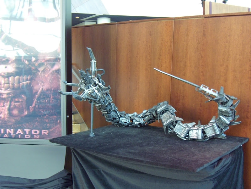 Terminator Salvation hydrobot film prop