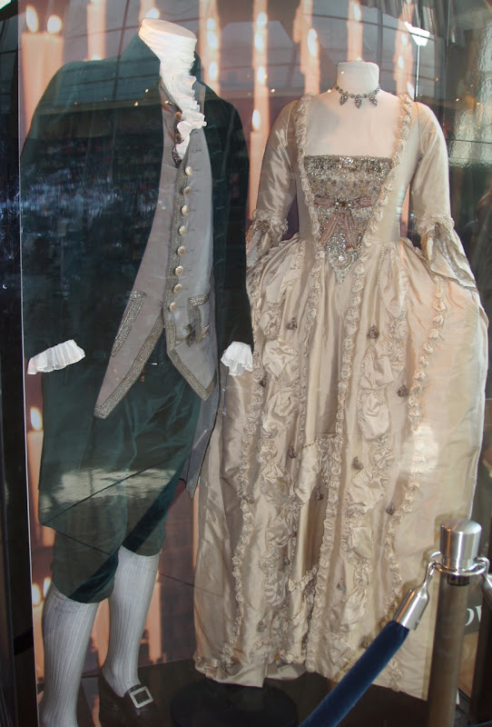 The Duchess original film costumes worn by Ralph Fiennes and Keira Knightley