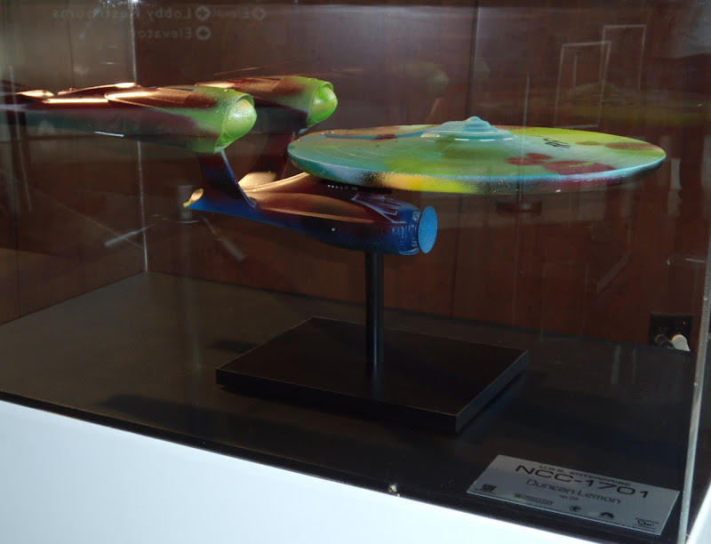 Star Trek Enterprise NCC-1701 Duncan lemon model replica