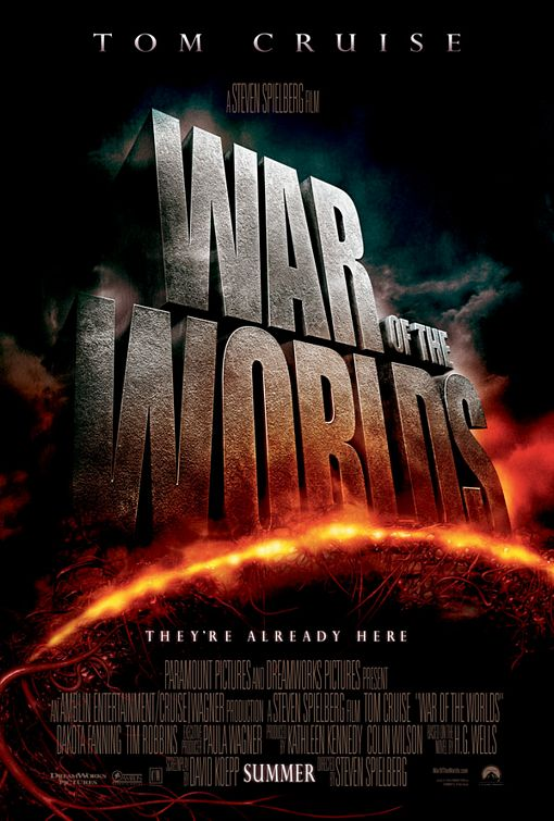 War of the Worlds film poster
