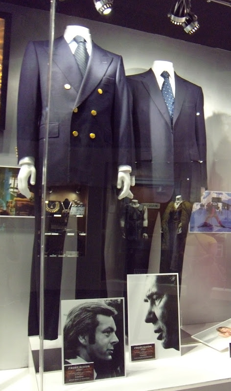 Michael Sheen and Frank Langella costumes from the Frost Nixon movie