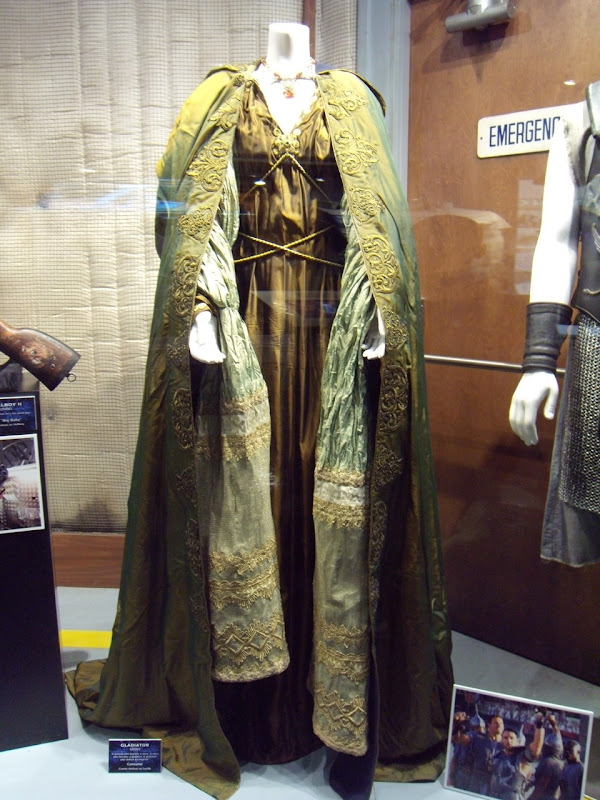 Gladiator Roman costume worn by Connie Nielson as Lucilla