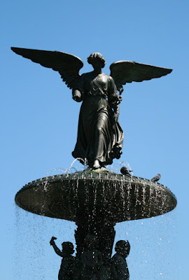 Bethesda Fountain angel