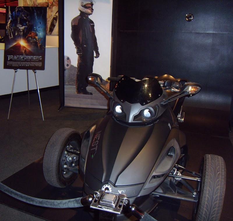 Transformers 2 Spyder Roadster