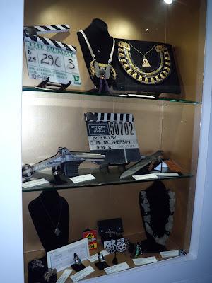 Universal Studios Museum prop display