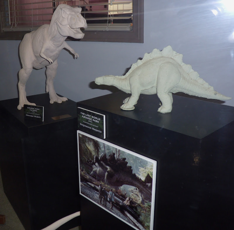 Jurassic Park dinosaur maquettes
