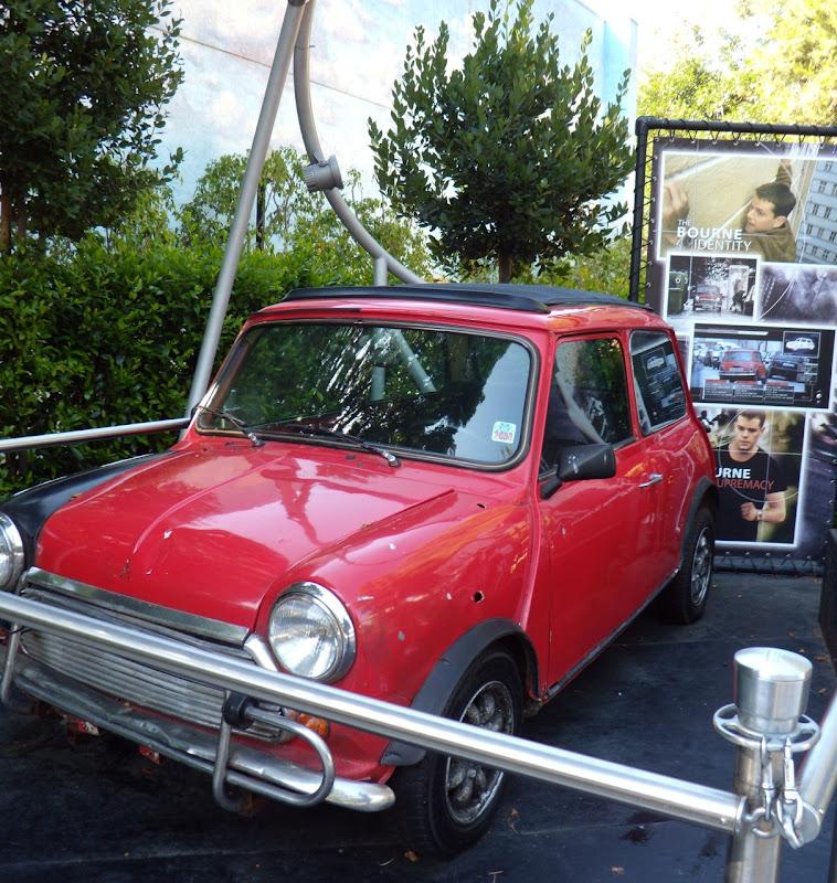 Actual Bourne Identity Mini Cooper movie car