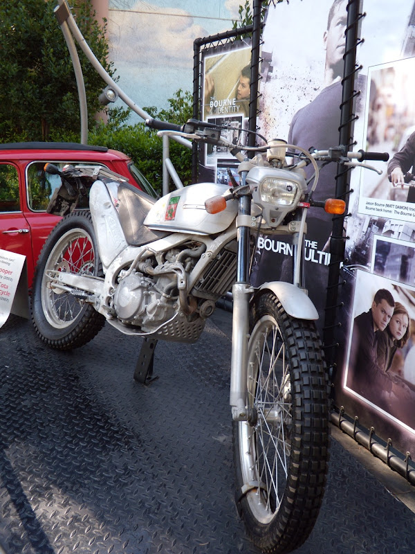 The Bourne Ultimatum Honda Cota 4RT motorcycle