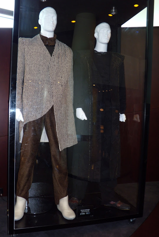 Star Trek film costumes Vulcan and Romulan