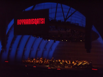Koyaanisqatsi and Philip Glass at The Hollywood Bowl