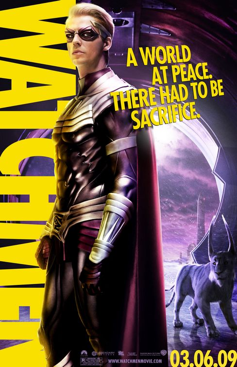 Watchmen Ozymandius film poster